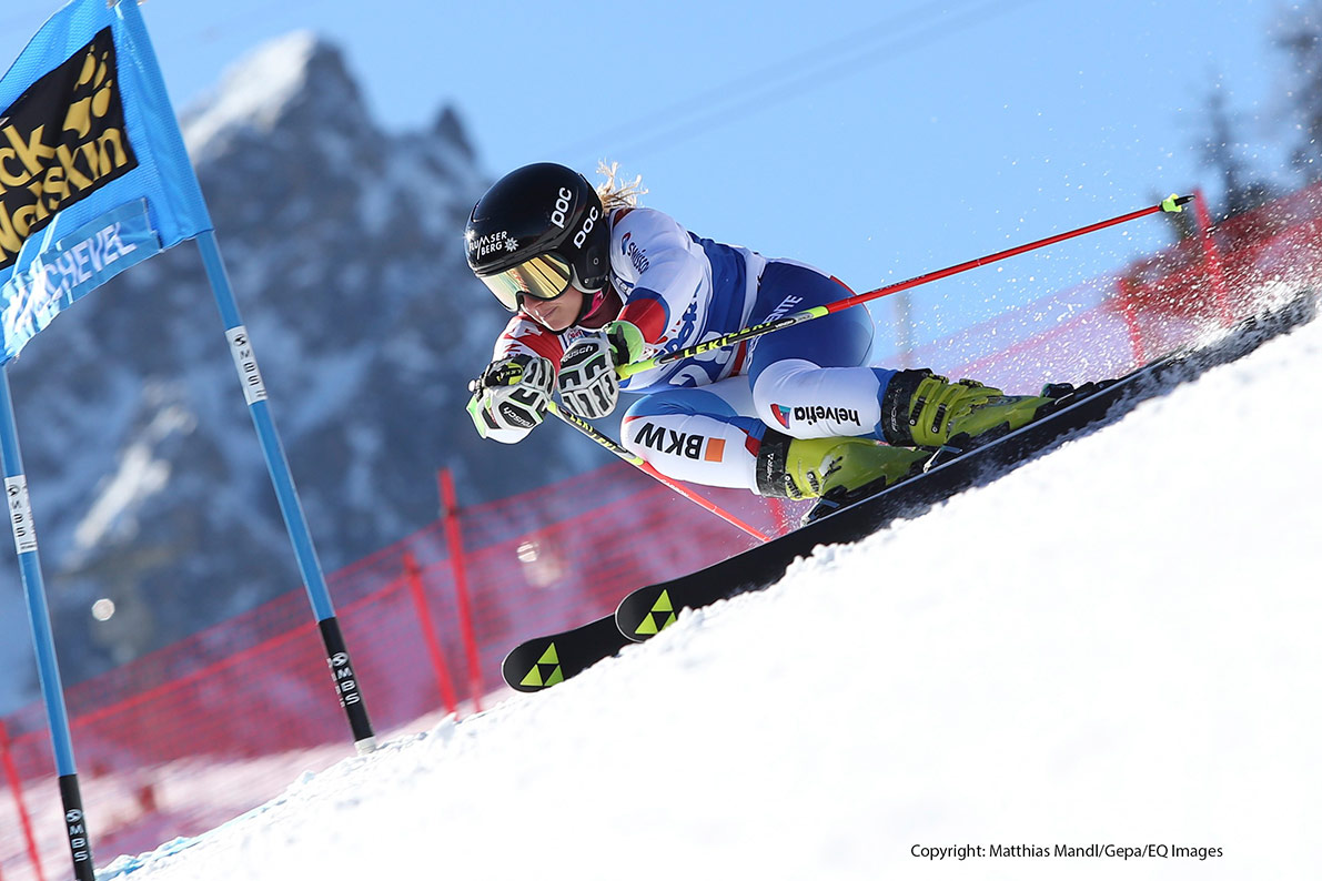 FIS Alpine Ski World Cup in Courchevel, Frankreich (Dez 2015)